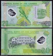 GAMBIA 20 DALASIS POLYMER 20.7.2014 (2015) PICK NEW DESIGN UNC - Gambia