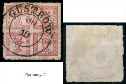 Mecklenburg-Schwerin,MiNr.5o,Güstrow,  Pracht/Kabinet - Mecklenburg-Schwerin