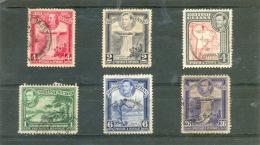 1938 GUYANE ANGLAISE Y & T N° 162 163 164 165 167 ( O ) + Y & T N° 139 - British Guiana (...-1966)