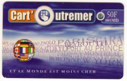 MARTINIQUE CART OUTREMER Ref MV CARD ANTF CO1b  Date 1999 - Antilles (Françaises)