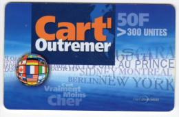 GUADELOUPE CART OUTREMER Ref MV CARD ANTF CO7e - Antilles (French)