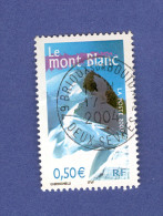 2003  N° 3602  MONT BLANC  17.1.2004  OBLIT - France