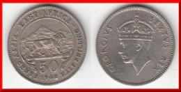 **** AFRIQUE DE L´EST - EAST AFRICA - 50 CENTS 1948 - HALF SHILLING 1948 GEORGE VI **** EN ACHAT IMMEDIAT !!! - British Colony