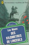 Leo Malet Livre De Poche  Des Kilometres De Linceuls  Tbe - Leo Malet