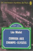 Leo Malet Livre De Poche  Corrida Aux Champs Elysees - Leo Malet