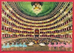 164036 / Milano ( Milan ) - BALLET DANCE , TEATRO ALLA SCALA - INTERNO  INTERIOR - Italia Italy Italie Italien Italie - Milano (Milan)