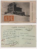 LE HOHNECK - L' Hotel Belvédère En Hiver - Cachet Perlé De LA SCHLUCHT (Vosges)   (75984) - France