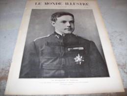 LE MONDE ILLUSTRE 8 OCTOBRE 1910 : PORTUGAL - BRESIL - CHAVEZ - BERLIN -  CHRONIQUE AERONAUTIQUE