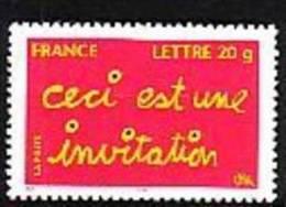2005-N°3760** INVITATION - Neufs