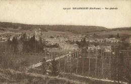 Doulaincourt  (Haute-Marne) Vue Générale - Doulaincourt