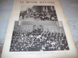 LE MONDE ILLUSTRE 22 OCTOBRE 1910 : PORTUGAL - GREVE DES CHEMINS DE FER - BERLIN - AERONAUTIQUE