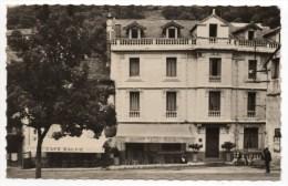 VILLEFORT (48) - CPSM (FORMAT CPA) - HOTE & CAFE BALME - Villefort