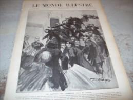 LE MONDE ILLUSTRE 29 OCTOBRE 1910 : PORTUGAL - ROI DE SIAM - FAR-WEST - BALKANS