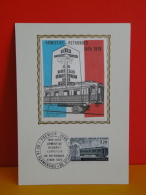 FDC- Carte Maxi, Armistice Rethondes 1918/1978 - 02 Flamengrie/60 Compiègne - 11.11.1978 - 1er Jour, Coté 2,20 € - 1970-79