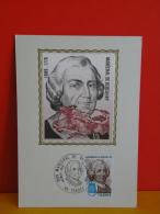 FDC- Carte Maxi, Maréchal De Bercheny 1689/1778 - 65 Tarbes - 13.1.1979 - 1er Jour, Coté 2 € - Cartes-Maximum