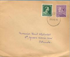1p374: N° 724Y &  724F -10% : GISTEL 29.6.46... Van Dat Maakwerk... - 1946 -10 %