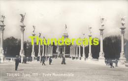 CPA PHOTO TORINO ESPOS 1911 PONTE MONUMENTALE - Expositions
