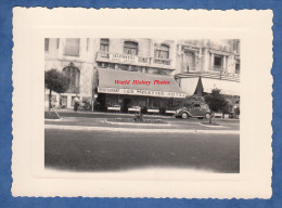 Photo Ancienne - LES SABLES D'OLONNE - Restaurant Hotel Pension Les Mouettes - Automobile à Identifier - Cars