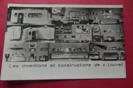 Photo  Les Inventions Et Constructions De C Louvet - Jeux Et Jouets