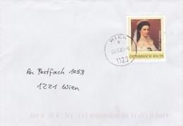 """1310w: Personalisierte """"Kaiserin Sissy"""" Österreich: Bedarfsbrief Gest. 25.10.2006 PA 1126 Wien - Autriche"""