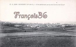 (62) Wissant - Vue Génèrale Prise Du Camp De César - 2 SCANS - Wissant