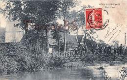 (62) Aubin Saint St Vaast - Petit Pont - 2 SCANS - France