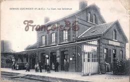 (62) Hersin Coupigny - La Gare, Vue Intérieure - 2 SCANS - Other Municipalities
