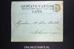 Belgium: Company Cover  OBP 59  Gand / Gent To Scheveningen Holland 1894