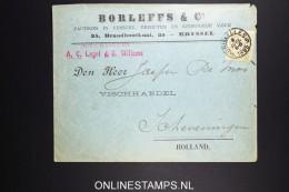 Belgium: Company Cover  OBP 59  Brussels To Scheveningen Holland 1895
