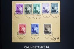 Belgium:  Cover 1937 , OBP 447 - 454