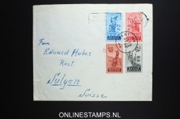 Belgium:  FDC Cover 1948 , OBP 781 - 784