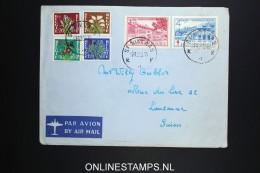 Belgium: Cover 1950 , OBP 834 - 839