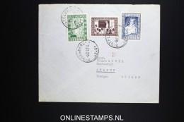 Belgium: Cover 1951 , OBP 842 - 844