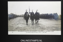 Belgium:card La Joyeuse Entrée Du Roi Albert 1909   Not Used