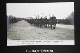 Belgium:card La Joyeuse Entrée Du Roi Albert 1909   Not Used Nr 17