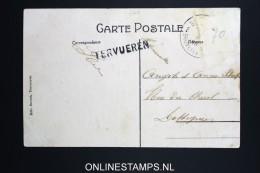 Belgium:card Postale Cancel TERVUREN  Stamp Removed.