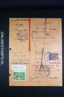 Belgium: Ontvangkaart / Carte-récépissé  1941 Label Afwezig / Absent, Complete Set