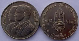 THAILANDIA 10 BAHT 1992 MINISTERO DELLA GIUSTIZIA CENTENARIO UNC - Tailandia