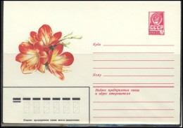 RUSSIA USSR Stamped Stationery Ganzsache 15208 1981.10.13 Plants Flora Flowers - 1980-91