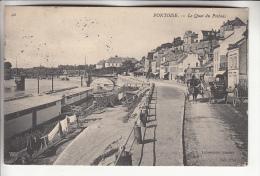 PONTOISE 95 - Le Quai Du Pothuis - CPA - Val D'Oise - Pontoise
