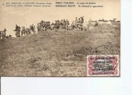 Ruanda -Urundi - Repos Terminé De La Force Publique ( Carte Postale De 1918 à Voir) - Ruanda-Urundi