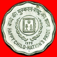 ★CHILDREN★INDIA ★ 10 PAISE 1979! UNC! LOW START★ NO RESERVE! - Inde