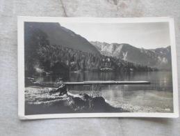 Slovenia - BOHINJ - Bohinjsko Jezero -Fr. Pavlin Jesenice - RPPC    D127433 - Slovenia