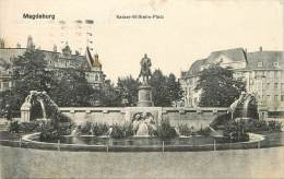 MAGDEBURG KAISER WILHELM PLATZ - Magdeburg