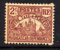 MADAGASCAR - N° T8* -  PALAIS ROYAL DE TANANARIVE - Madagascar (1889-1960)