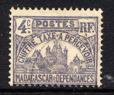 MADAGASCAR - N° T9* -  PALAIS ROYAL DE TANANARIVE - Madagascar (1889-1960)