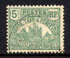 MADAGASCAR - N° T10* -  PALAIS ROYAL DE TANANARIVE - Madagascar (1889-1960)