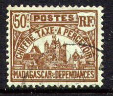 MADAGASCAR - N° T14° -  PALAIS ROYAL DE TANANARIVE - Madagascar (1889-1960)