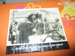 Photo Press German Russian Refugees Russia Guerre WWII - Documents