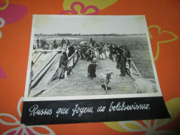 Photo Press German Russia Russian Refugees  Guerre WWII - Documents